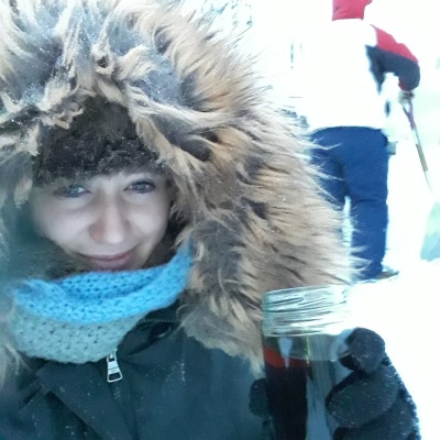 Outdoors in the Cold