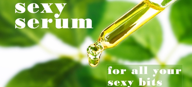 Sexy Serum website banner